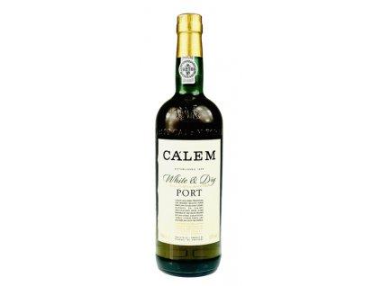 Portské víno CÁLEM WHITE & DRY 0,75l