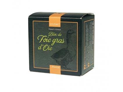Gourmet Partners Husí Foie Gras z Gascogne v bloku (plech), 65g