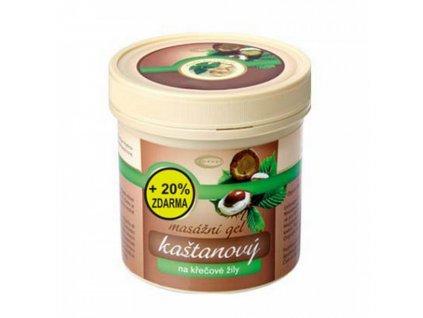 AKCE Kaštanový gel 250ml Topvet