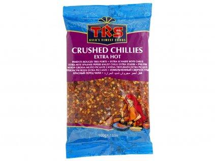 Drcené chilli extra pálivé 100g TRS