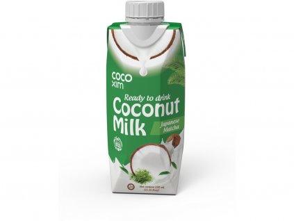 Kokosový nápoj Matcha 330ml Cocoxim