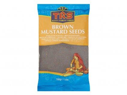 Hnědé hořčičné semínko 100g TRS