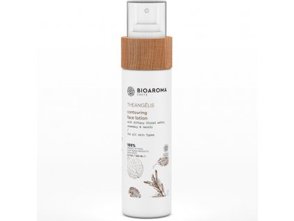 BioAroma kosmetika THEANGÉLIS BIO konturovací pleťové mléko proti stárnutí pro všechny typy pleti 100ml BioAroma