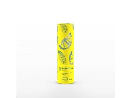 BioAroma kosmetika BIO balzám na rty s citrónem a mátou 5ml BioAroma