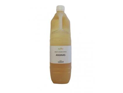 Výběrový sirup z celého ovoce ANANAS 500ml NOVAFOOD