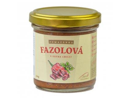 Seneb Fazolová pomazánka s extra chilli 140 g
