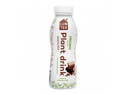 Plant drink čokoláda - nápoj rostlinný zakysaný 300 ml LUNTER