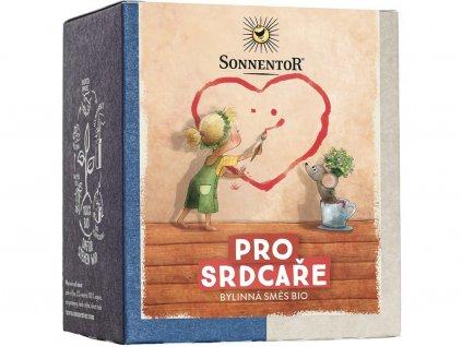Bio Pro srdcaře porcovaný čaj pyramida 36,8g Sonnentor