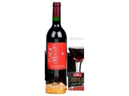 """790033""""Domaine de Maubet"""", francouzské bílé víno 0,75l"""