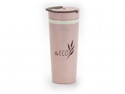 Eko kelímek Americano růžový 450ml