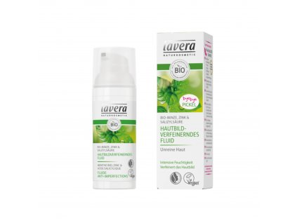 AKCE Póry zjemňující hydratační fluid 50 ml Lavera