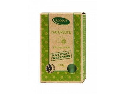Kappus Mýdlo Lemon&Lime certif., přírodní 100g