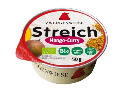 Pomazánka s curry a mangem 50 g BIO ZWERGENWIESE