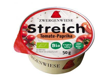 Pomazánka s rajčetem a paprikou 50 g BIO ZWERGENWIESE