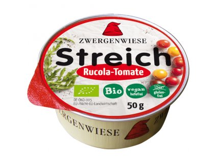 Pomazánka s rukolou a rajčetem 50 g BIO  - nová receptura ZWERGENWIESE