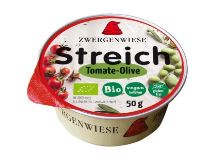 Pomazánka s rajčetem a olivami 50 g BIO ZWERGENWIESE
