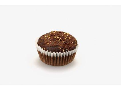 muffin tmavy s krupinkami