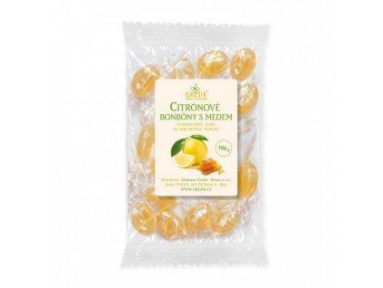 Bonbony Citron & med 100g Grešík