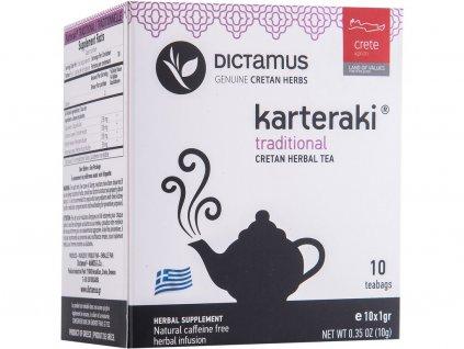 Bylinkový čaj Karteraki směs bylin 10x1g