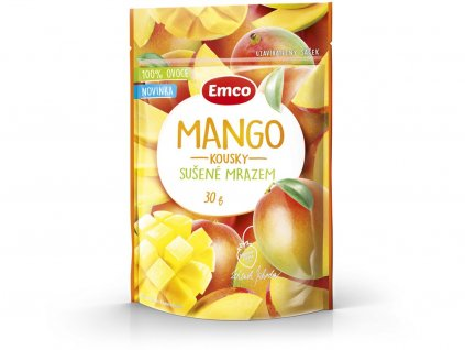 Mrazem sušené mango 30g Emco