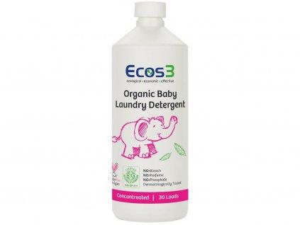 Ekologický prostředek na dětské prádlo 1050ml ECOS3