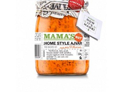 AKCE Mamas Ajvar Home Made hot Mamas, 550g