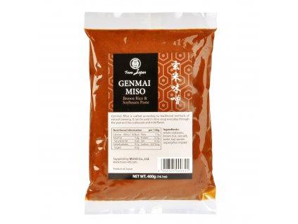 AKCE Miso genmai hnědá rýže 400g MUSO