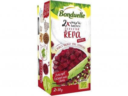 Červená řepa mini SRP 2x106ml Bonduelle