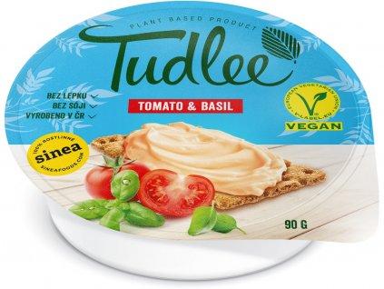 Tudlee Vegan pomazánka Tomato & Basil 90g