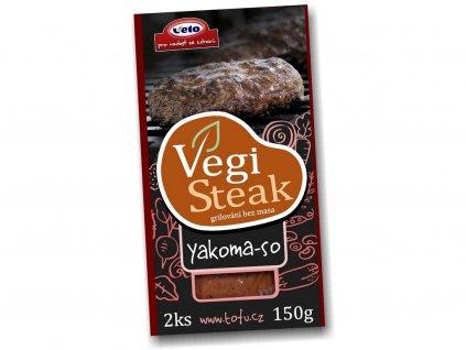VegiSteak Yakoma-so 150g Veto Eco