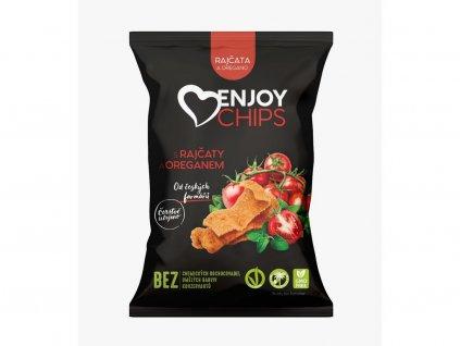 Bramborové chipsy s rajčaty a oregánem 40g Enjoy chip