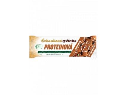 Tyčinka Čekanková proteinová perník 35g 4Slim