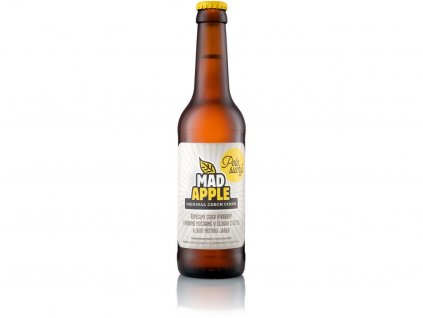 Mad apple cider polosuchý 330ml