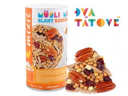 AKCE Pečený Mixit: Slaný karamel & pekany 470g