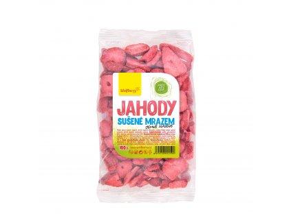 Jahody lyofilizované jemně slazené 100 g Wolfberry