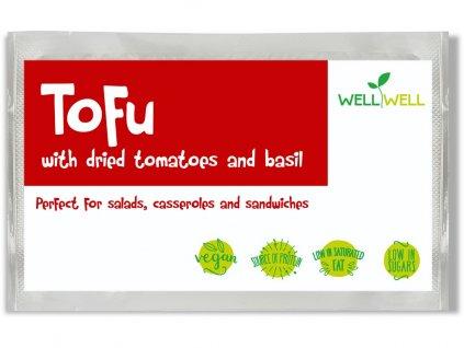 Tofu se sušenými rajčaty a bazalkou 200g Well Well