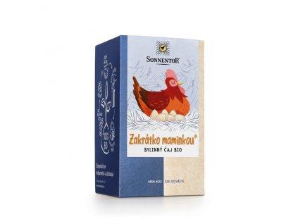 Biorarášci čaj - Zakrátko maminkou 21,6 g BIO SONNENTOR