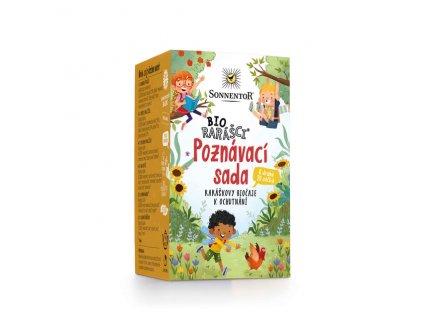Biorarášci čaj - Biorarášci poznávací sada 32,8 g BIO SONNENTOR
