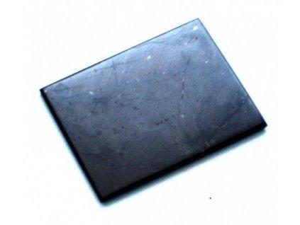 Šungitová destička na mobil - 2,1 x 1,5 cm