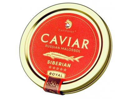 BAERII - PREMIUM SIBERIAN sturgeon caviar, 50g jar