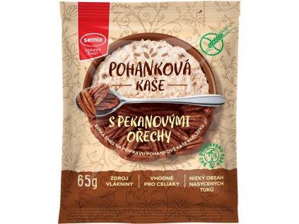 AKCE Pohanková kaše s pekanovými ořechy 65g Semix