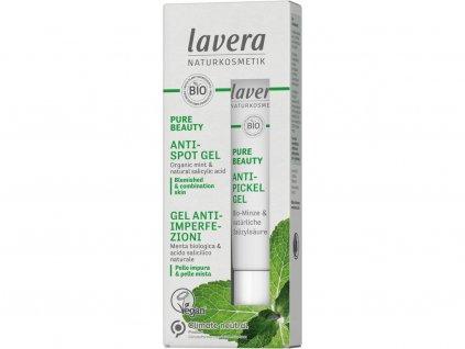Lavera Pure Beauty Gel na akné 15 ml Lavera