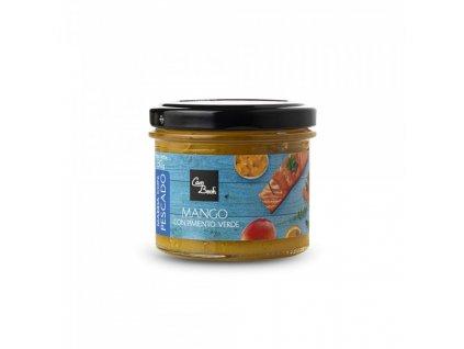Can Bech K rybě - Mangové čatní se zeleným pepřem, sklo 130g