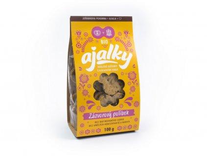 Bio Ajalky - zázvorový polibek 100g Ajala
