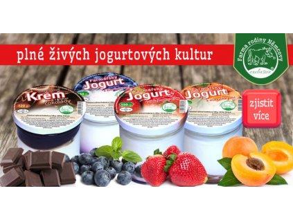 akce3 jogurt mix 7x 150g kar jab jah mer vis bor mal