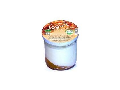 farmarsky jogurt s karamelem 150 g