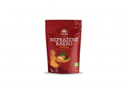 Bio nepražené kakao prášek 250g Iswari