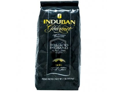 INDUBAN Dominikánská prémiová káva v zrnech Induban Gourmet, 453g
