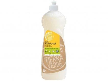 Bio Gel na nádobí s citronovou silicí 1l Tiera Verde