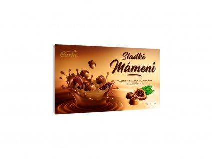 Pralinky z ml.čokolády s kakaovou náplní 60g Carla